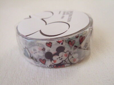Disney Store Japan Disney by Kanahei paper tape NEW 15mm x 8m washi tape