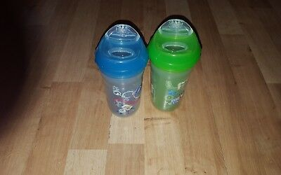 Nuby  Toddles Cups  * 2 Of Them * Age 18 Months + New Spouts