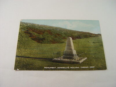 TOP11235 - Postcard - Monument, Donnelly's Hollow, Curragh Camp