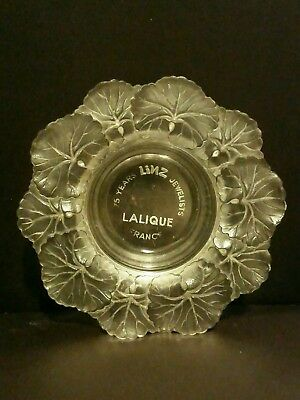 Lalique Linz jewelers dish/bowl