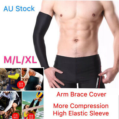 1 Pair Arm Sleeves Cover Compression Brace Sports Protector Sun Covering Driving
