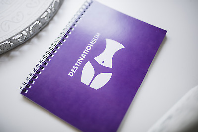 Diet Diary / Food Meal Fitness / Exercise / Weight Loss Journal PURPLE A5 Book