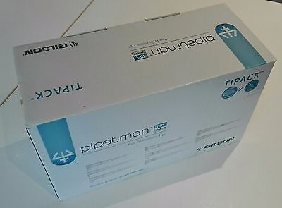 Tipack, Gilson 10 pack Diamond DF30ST 2-30ul sterile Filtered Pipette tips, New.