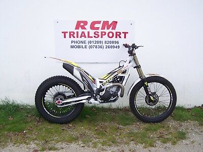 trs rr250 factory 2017, trials bike new ready to ride