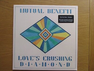 MUTUAL BENEFIT Loves Crushing Diamond 2013 US PRESSING VINYL LP NEW AND SEALED