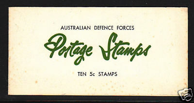 Australian Defence Forces Booklet Qeii  Scarce!!!!