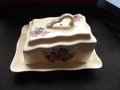 Unusual butter dish made in Roumania