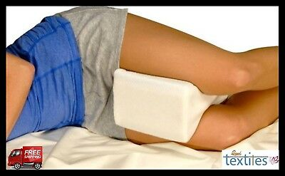 Memory Foam Leg Pillow Orthopaedic Reduce Pain Back Hips Knee Cushion Support