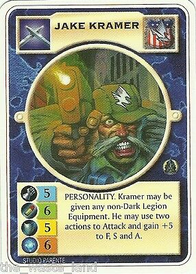 Doomtrooper: Jake Kramer English Mortificator Mint Mutant Chronicles Ccg