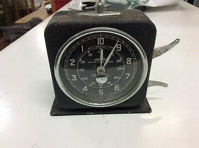 smiths Interval timer clock. Photographic