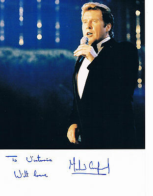 Michael Crawford Stage and Film TV Actor  - Hand Signed Photograph 9 x 7