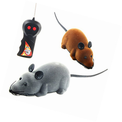 Wireless Remote Control RC Rat Mouse Toy For Cat Dog Pet Novelty Gift Funny