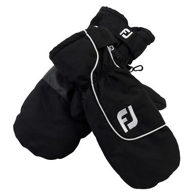 Footjoy Golf Winter Mitts Pair 35712 Black Clearance FREE P&P