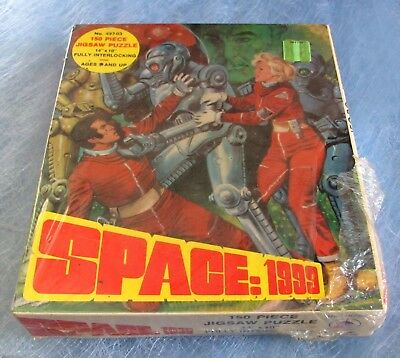 VINTAGE - SPACE 1999 - 150 PIECE JIGSAW PUZZLE - SEALED - No. 497-03 - 1975