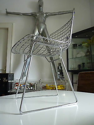 Knoll Harry Bertoia wire side chair 90er Jahre