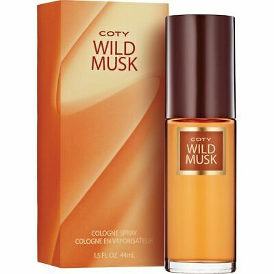 Wild Musk by Coty 44ml Cologne Spray