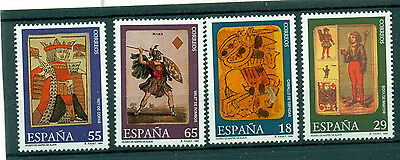 Spain Stamps - 1994 Playing Card Museum Vitoria In Mint Condition