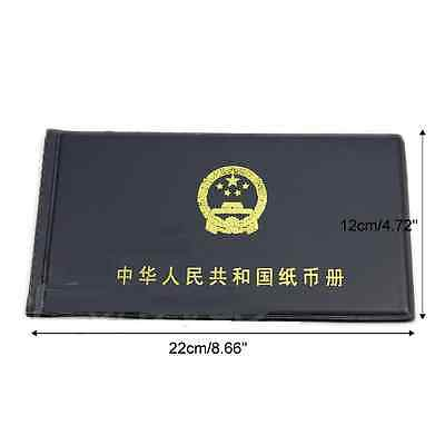 Paper Money Holders Storage Collection Pockets  Album Book Collecting Brand New