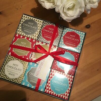 Christmas Hot Chocolate Nine Flavour Selection Box Gift Set