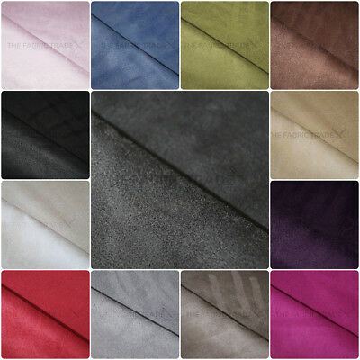 Premium Faux Suede Microfiber Upholstery Curtain Car Interior Headline (Sample)