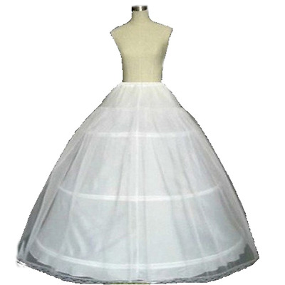 White Ball Gown Petticoat Quinceanera Dresses Crinoline Underskirt for Women NEW