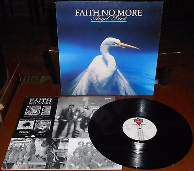 LP FAITH NO MORE Angel dust (London/Slash 92 EUROPE) 1st ps Patton inner VG+