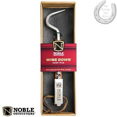 Noble Outfitters Wine Down Hoofpick In woodgrain – Hoof Pick – Corkscrew – GIFT