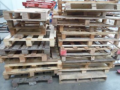 20 x Used Wooden Pallets Garden Furniture Kindling Firewood Log Burner Fencing