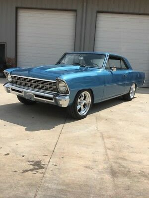 1967 Chevrolet Nova nova 1967 Nova Frame On Restoration 350 Engine classic 405 motors
