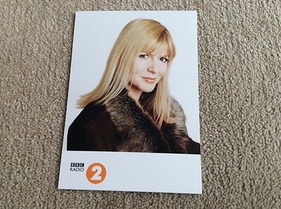 Janey Lee Grace Radio 2 Unsigned Card - Mint Condition