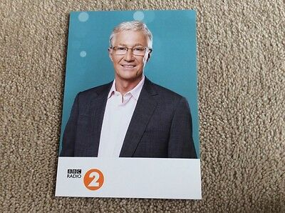 Paul O'grady Radio 2 Unsigned Card - Mint Condition