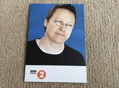 Simon Mayo Radio 2 Unsigned Card - Mint Condition