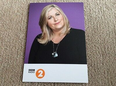 Liza Tarbuck Radio 2 Unsigned Card - Mint Condition