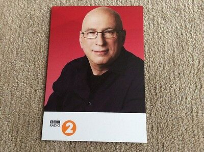 Ken Bruce Radio 2 Unsigned Card - Mint Condition