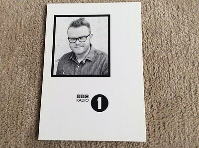 Huw Stephens Radio 1 Unsigned Card - Mint Condition