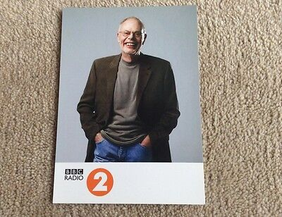 Bob Harris Radio 2 Unsigned Card -- Mint Condition