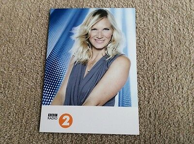 Jo Whiley Radio 2 Unsigned Card - Mint Condition