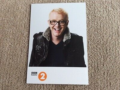 Chris Evans Radio 2 Unsigned Card - Mint Condition