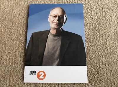 Bob Harris Radio 2 Unsigned Card - Mint Condition