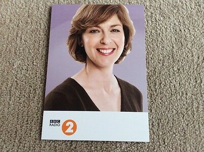 Lynn Bowles Radio 2 Unsigned Card - Mint Condition