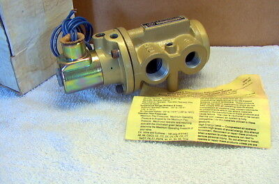 NORGREN D1024H-C1 directional control poppet valve NEW OLD STOCK