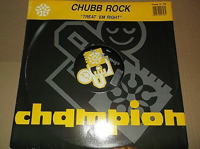 Chubb Rock ‎– Treat Em Right / Ya Bad Chubbs