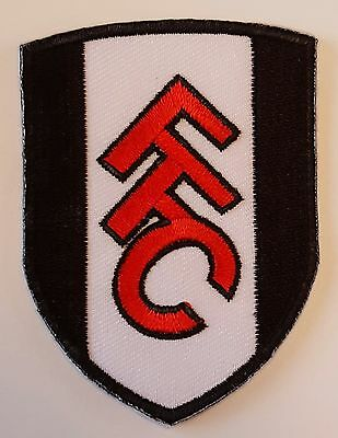 Fulham FC Crest Iron on/sew on soccer football patch badge
