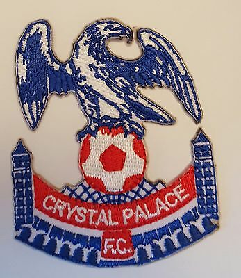 Crystal Palace FC Retro The eagles Crest Iron on/sew on soccer football patch
