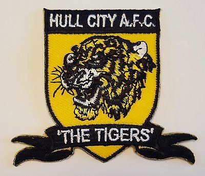 Hull City FC Crest Iron on/sew on soccer football patch badge