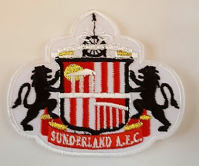 Sunderland FC Crest Iron on/sew on soccer football patch badge