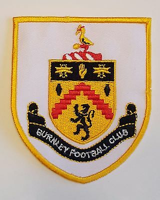 Burnley FC  Crest Iron on/sew on soccer football patch badge