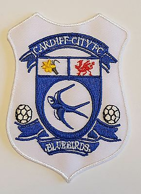Cardiff City FC  Crest Iron on/sew on soccer football patch badge