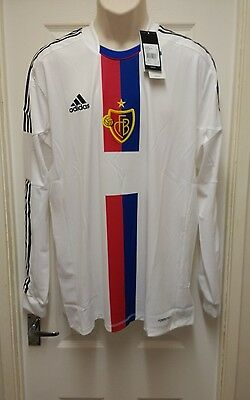 Fc Basel 1893 Player Issue Away Football Shirt 2012-2014 Adults Small