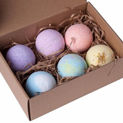 NEW Bath Bombs Gift Box Christmas Gift Set Bath Salts Lush Bath Bombs Fizzies